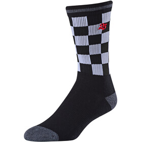 Troy Lee Designs Checker Crew Socks black